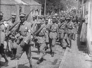 National Revolutionary Army soldiers marching